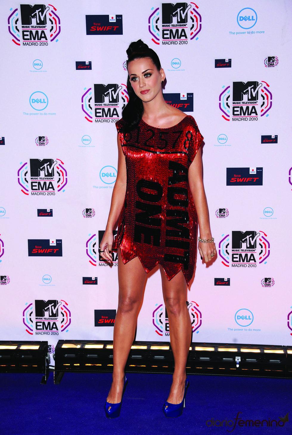 Katy Perry en los MTV Europe Music Awards