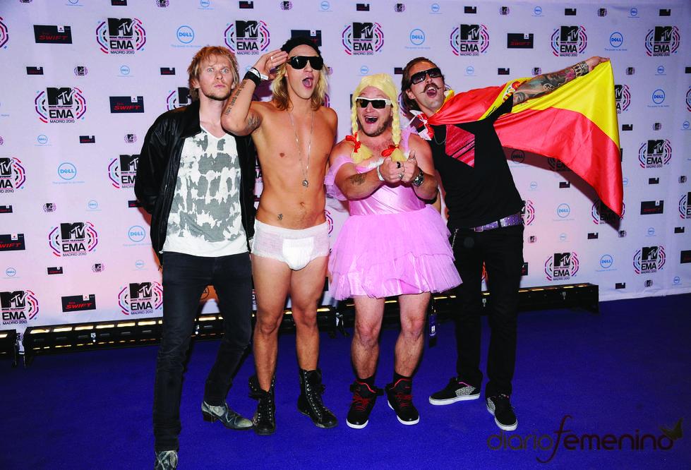 The Dudesons en los MTV Europe Music Awards