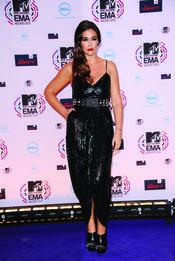 Vicky Martín Berrocal en los MTV Erope Music Awards