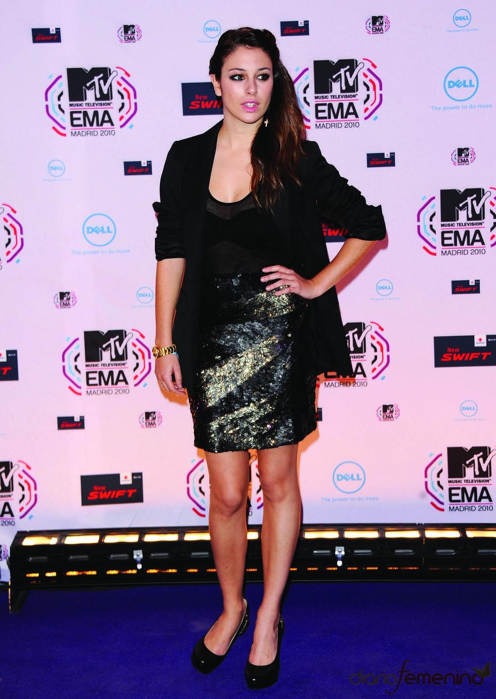 Blanca Suárez en los MTV Europe Music Awards