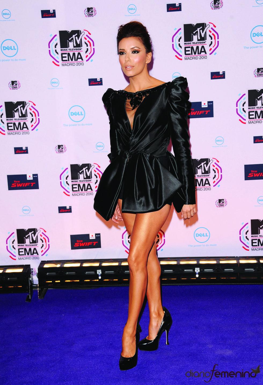 Eva Longoria, muy sexy en los MTV EMA