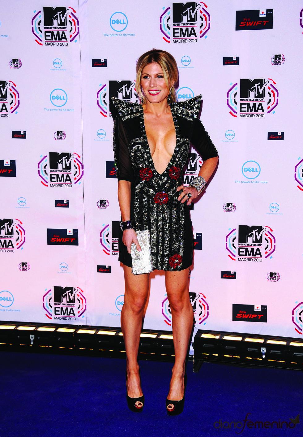Hofit Golan en los MTV Europe Music Awards