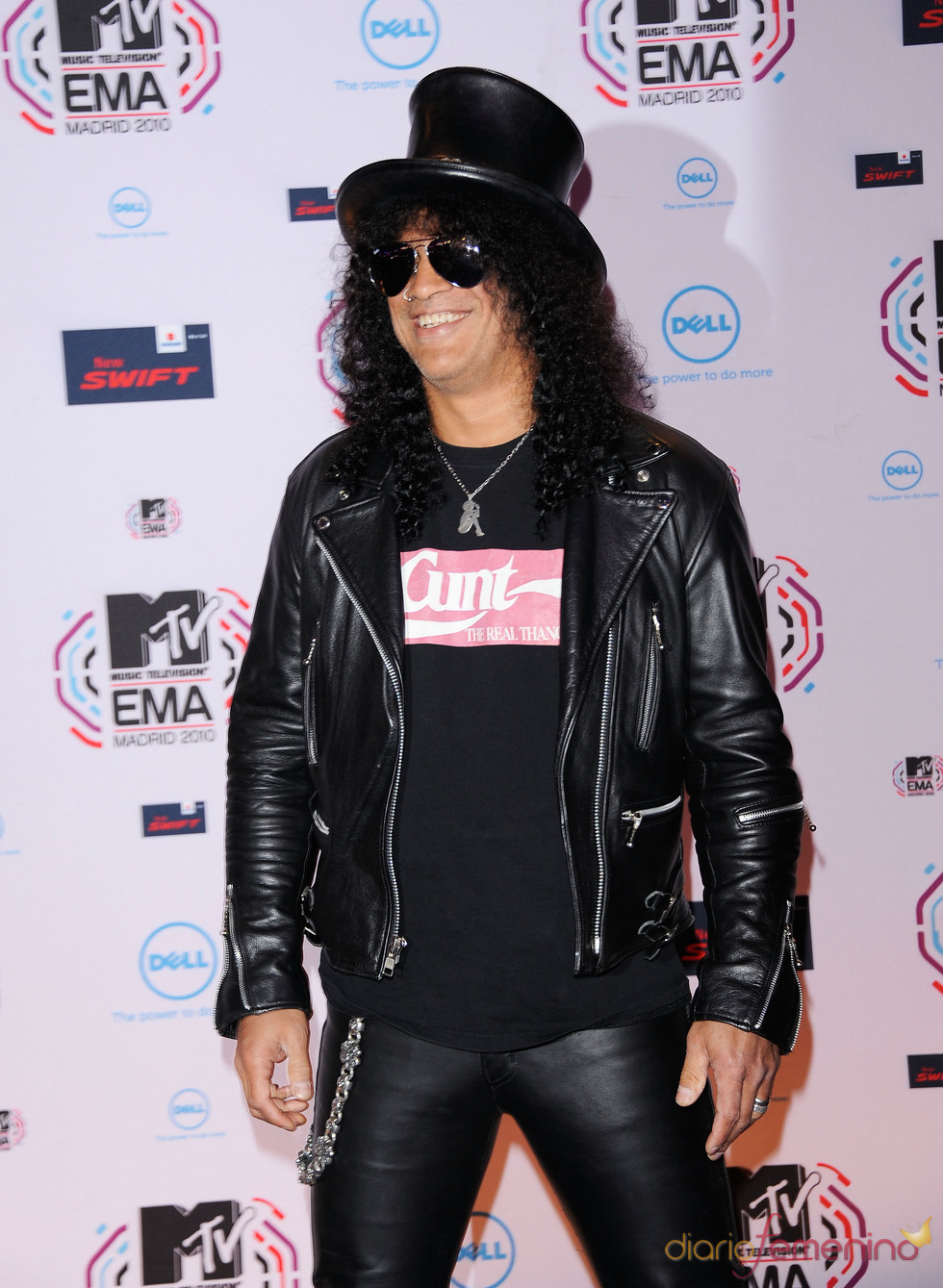 Slash en los MTV EMA