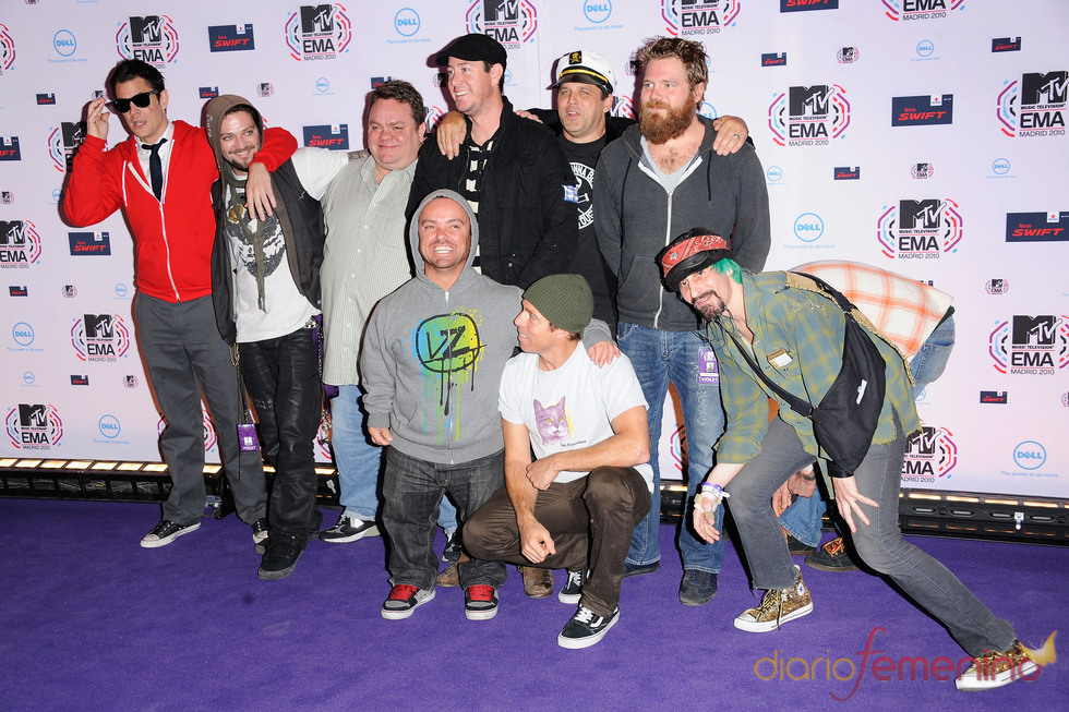 Los chicos de Jackass en los MTV EMA
