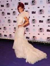 Rihanna llega a los MTV Europe Music Awards