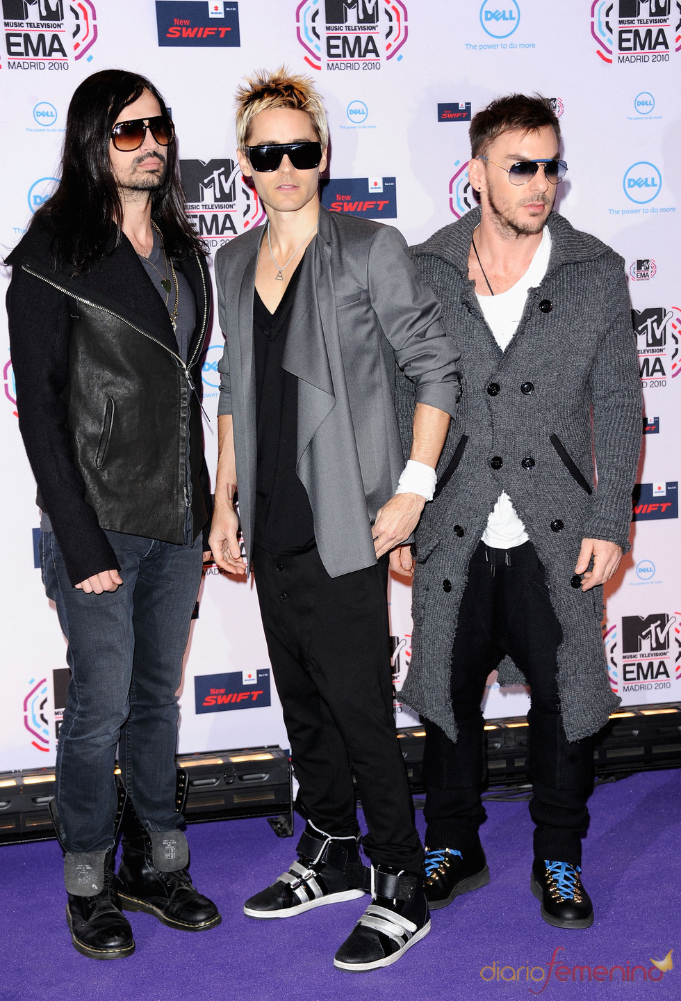 Thirty Seconds to Mars en los MTV Europe Music Awards