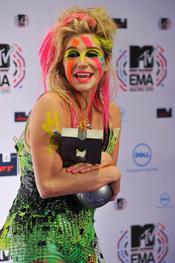 Kesha, una triunfadora en los MTV EMA 2010