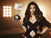 Eva Longoria promociona los premios MTV