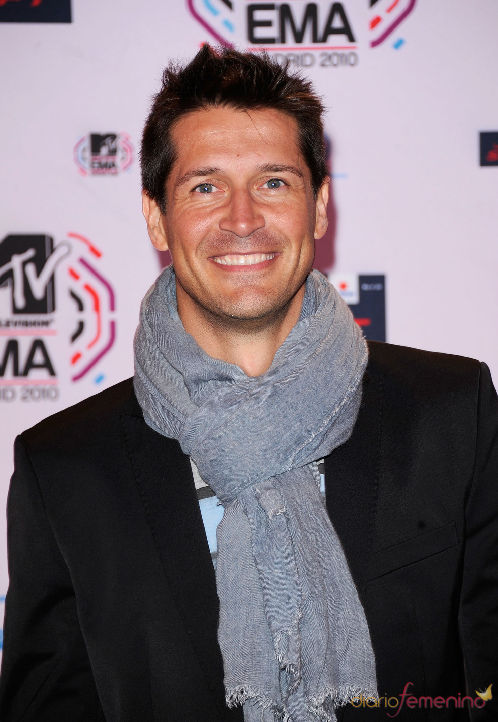 Jaime Cantizano posa en la última edición de los MTV europeos