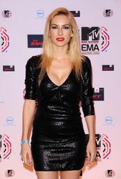Kira Miró posa en la última edición de los premios MTV europeos