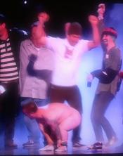 Wee-Man de Jackass desnudo en los MTV EMA Madrid 2010