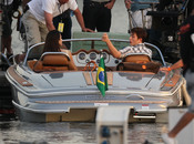 Robert Pattinson y Kristen Stewart, juntos de rodaje