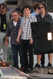 Robert Pattinson rueda en Rio de Janeiro
