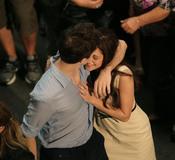 Robert Pattinson y Kristen Stewar, cariñosos en el rodaje de 'Amanecer'