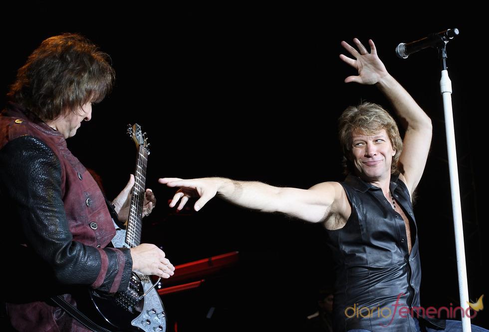 Bon Jovi derrochó energía en su actuación en los EMAs