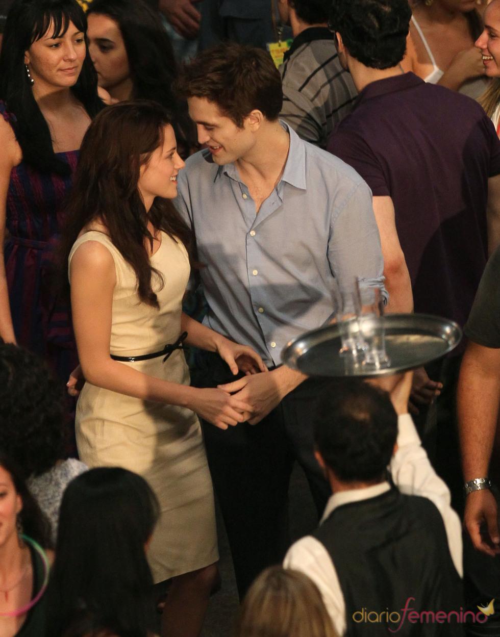 Miradas cómplices de Robert Pattinson y Kristen Stewart