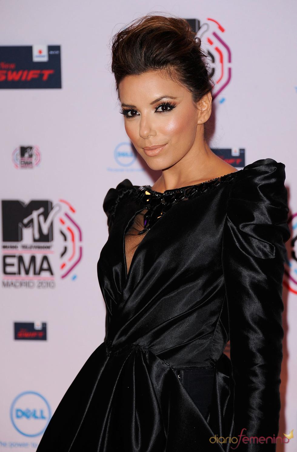 Eva Longoria no podía faltar en la última edición de los MTV en España