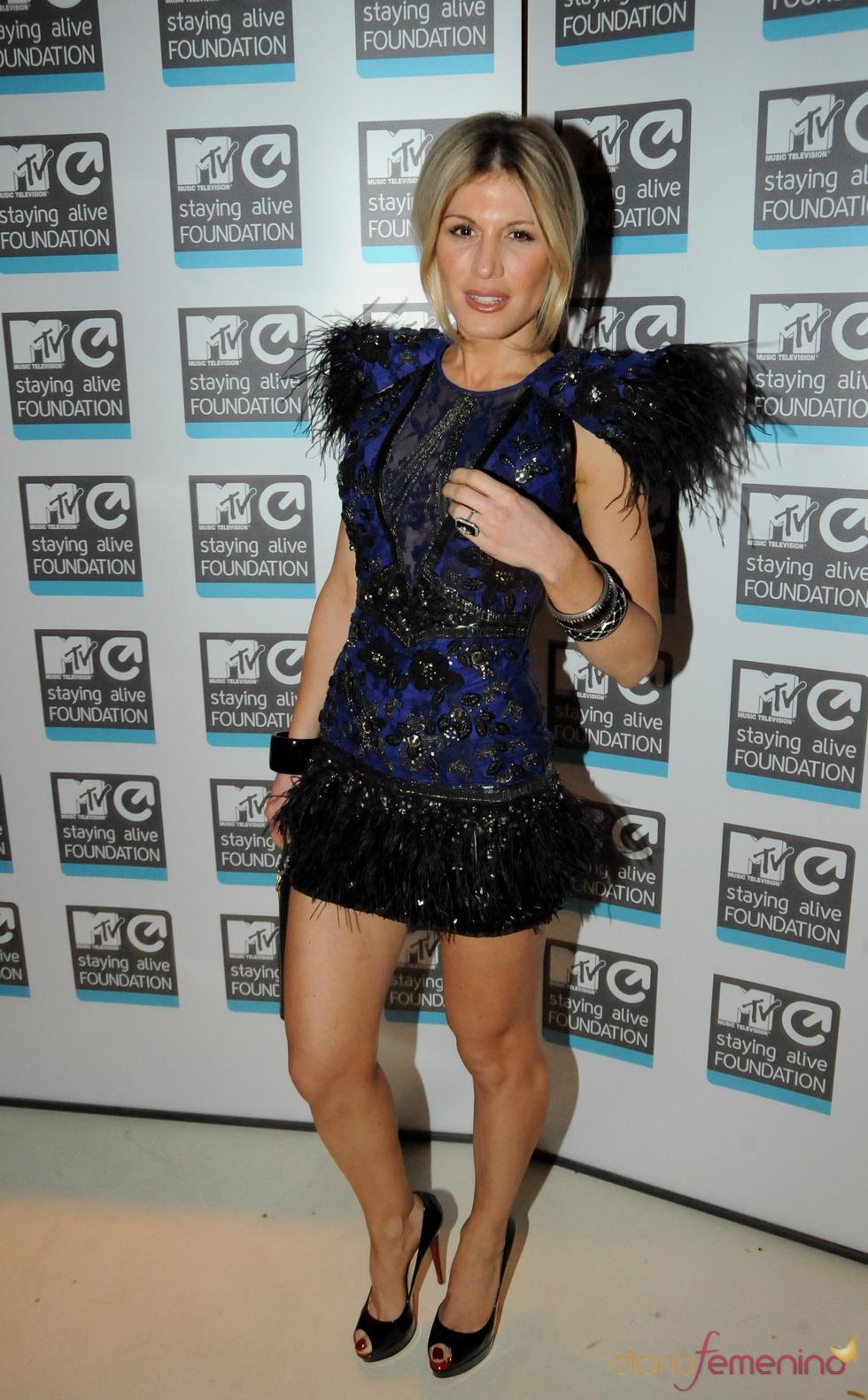 Hofit Golan en los premios de MTV en España