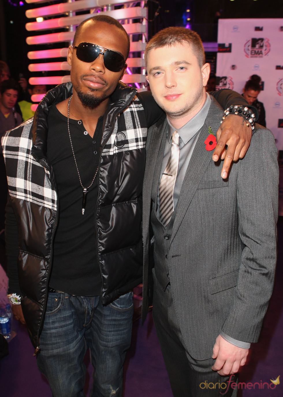 BOB y Plan B en los European Music Awards