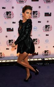 Eva Longoria, de negro en la Alfombra Roja