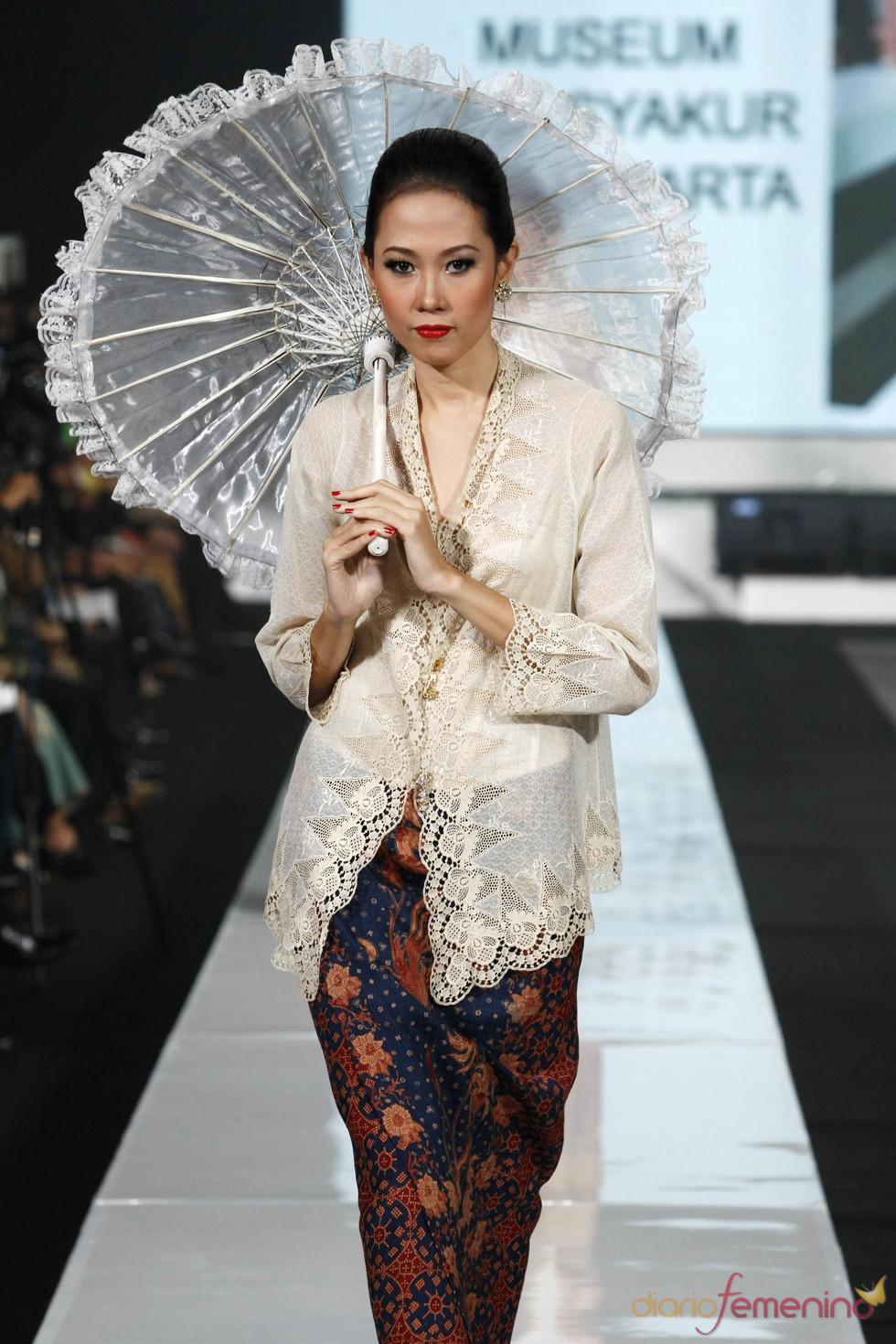 Diseño inspiración oriental en la JFW 2010/11