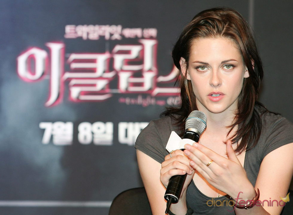 Kristen Stewart promociona la saga 'Crepúsculo'