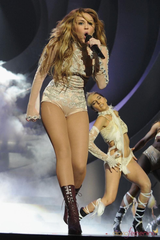 Miley Cyrus desprendió toda su energía en el MTV Day