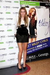 Miley Cyrus presenta su línea de ropa