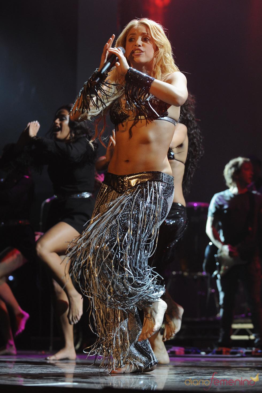 Shakira no podía faltar en la celebración de los premios de la música