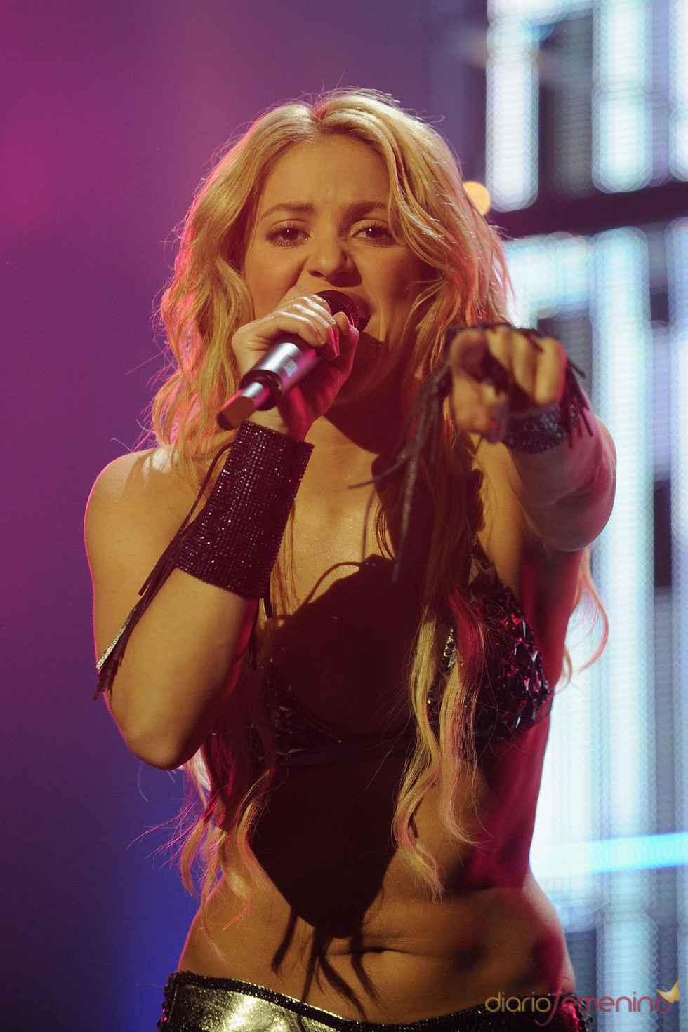 Shakira en los European Musica Awards