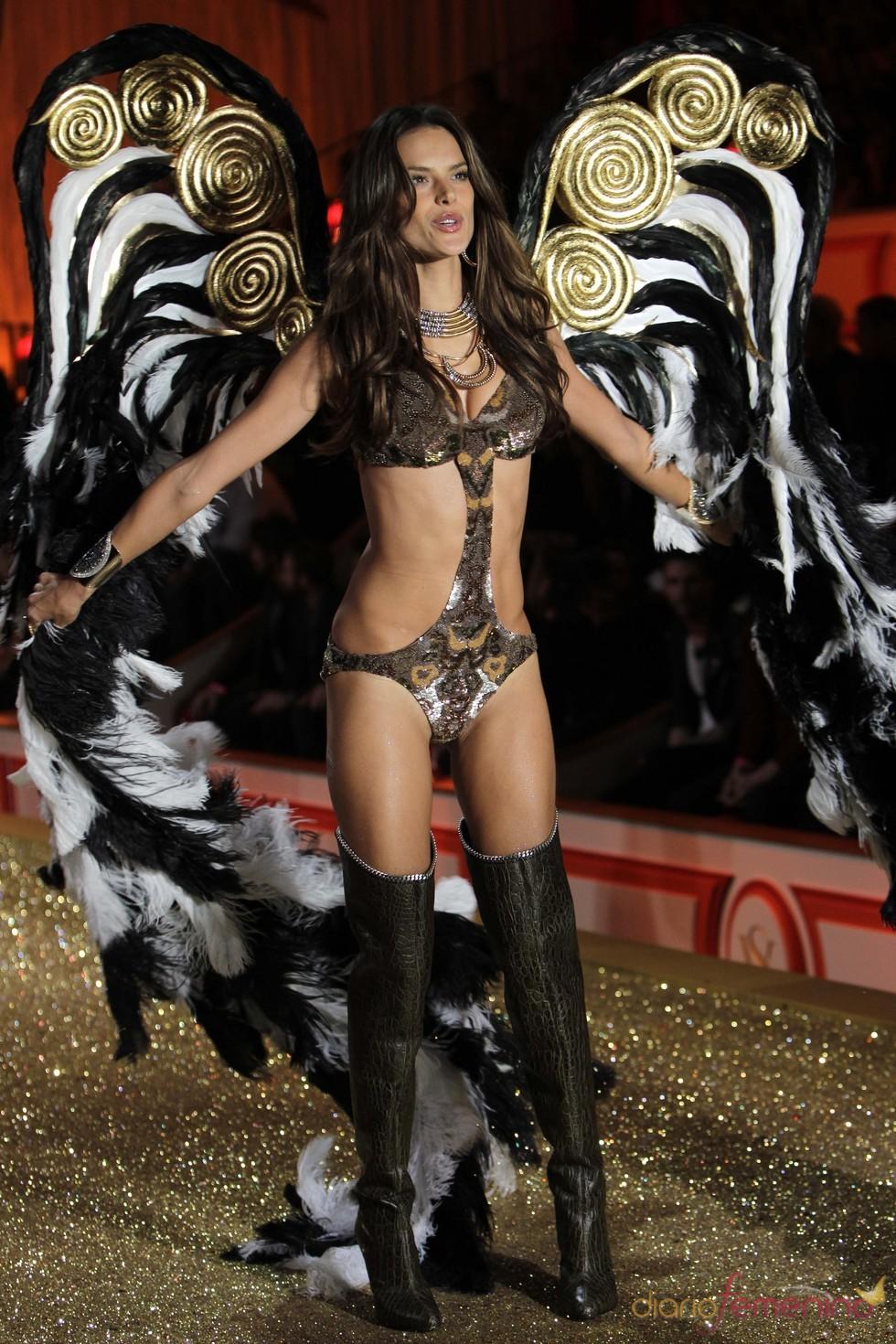 Sensualidad en el desfile de Victoria's Secret