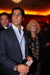 Francisco Rivera y Cayetana de Alba con el flamenco
