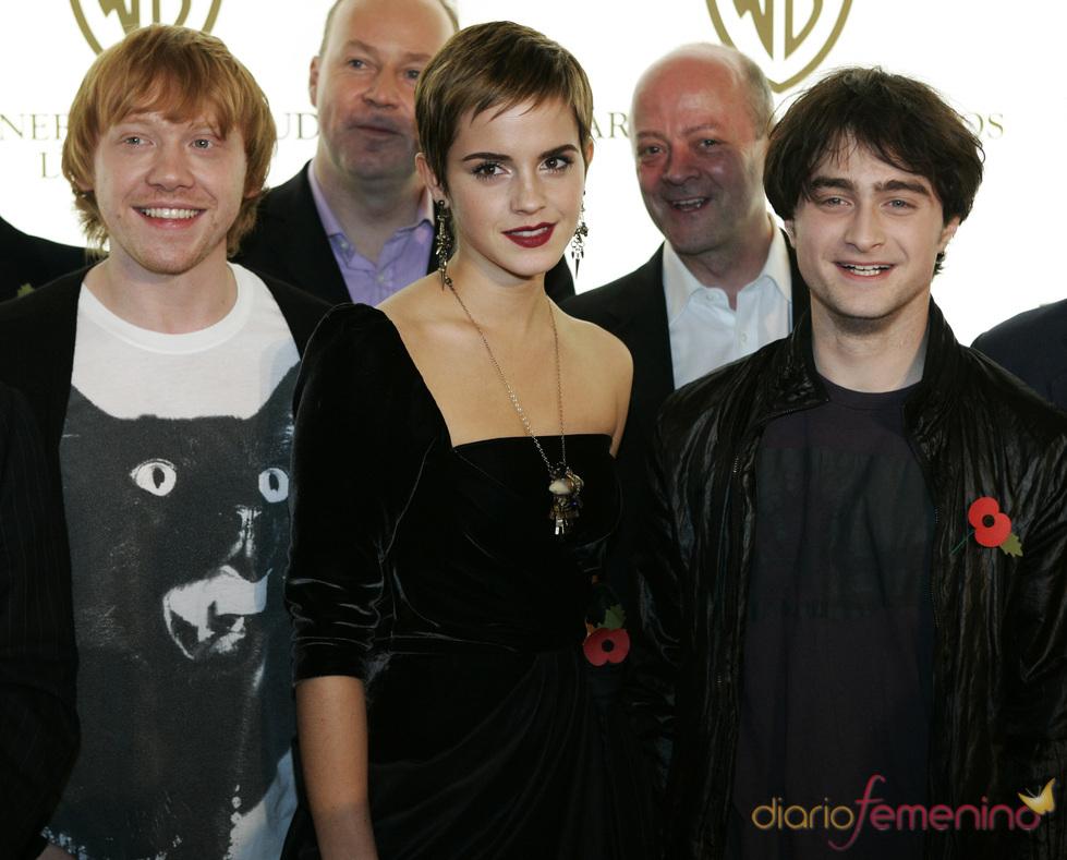 Los protagonistas de 'Harry Potter' cambian de estilo