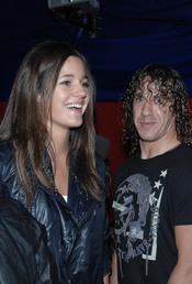 Carles Puyol y Malena Costa en el Circo del Sol