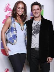 Alejandro Sanz con Alicia Keys