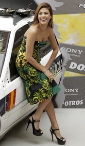 Eva Mendes promociona su nueva película 'The Other Guys'