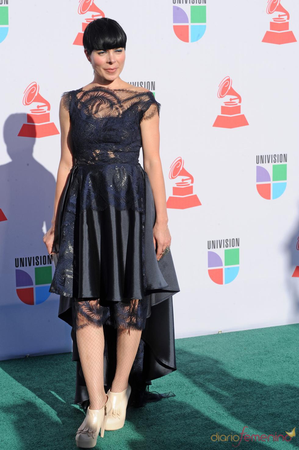 Ely Guerra en los Grammy Latino 2010
