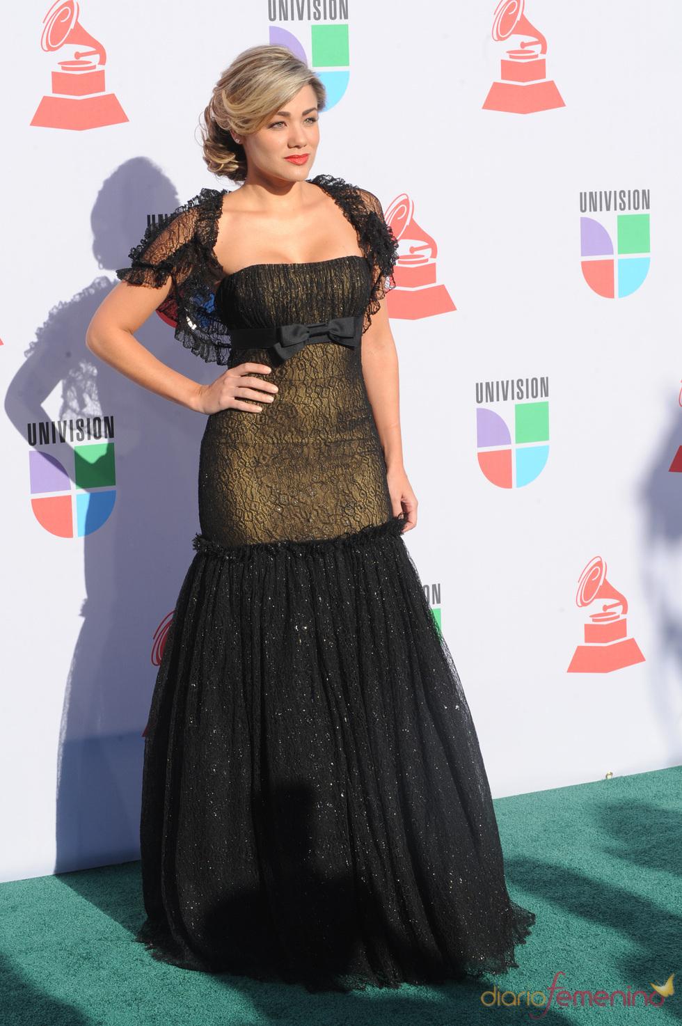 Gloria Ordaz en los Grammy Latino 2010
