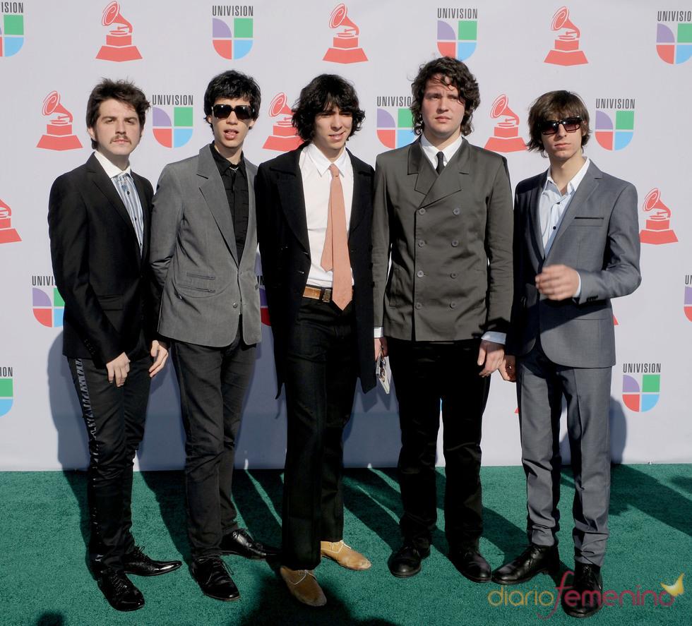 Banda De Turistas en los Grammy Latino 2010
