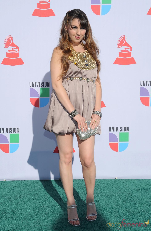 Uschi en los Grammy Latino 2010