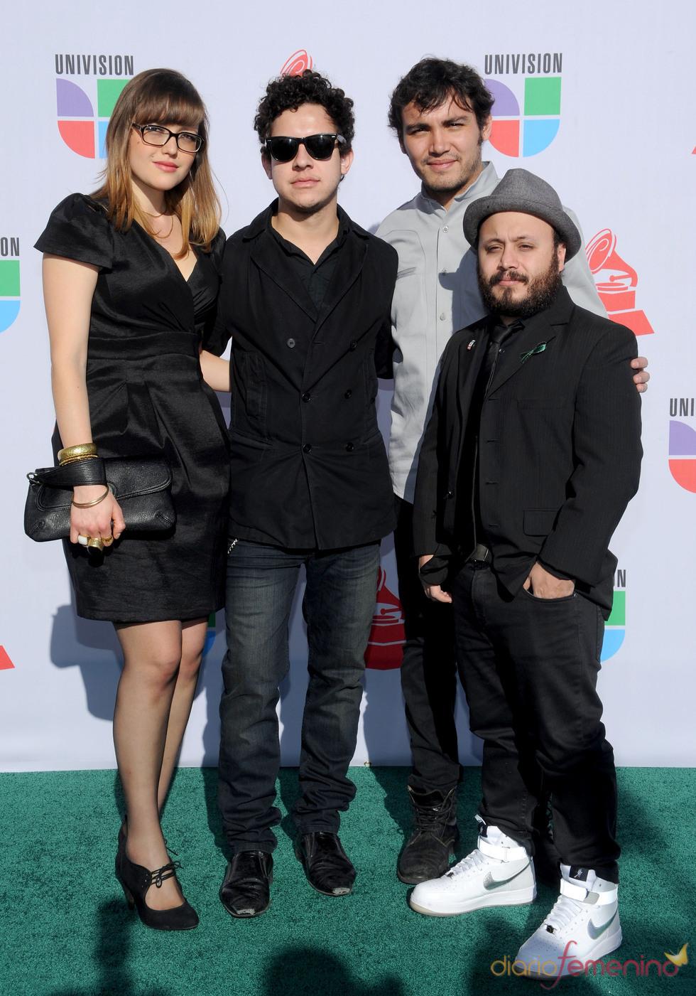 Hello Seahorse en los Grammy Latino 2010