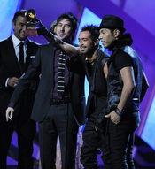 El grupo mejicano Camila se alzó con dos galardones en los Grammy Latinos