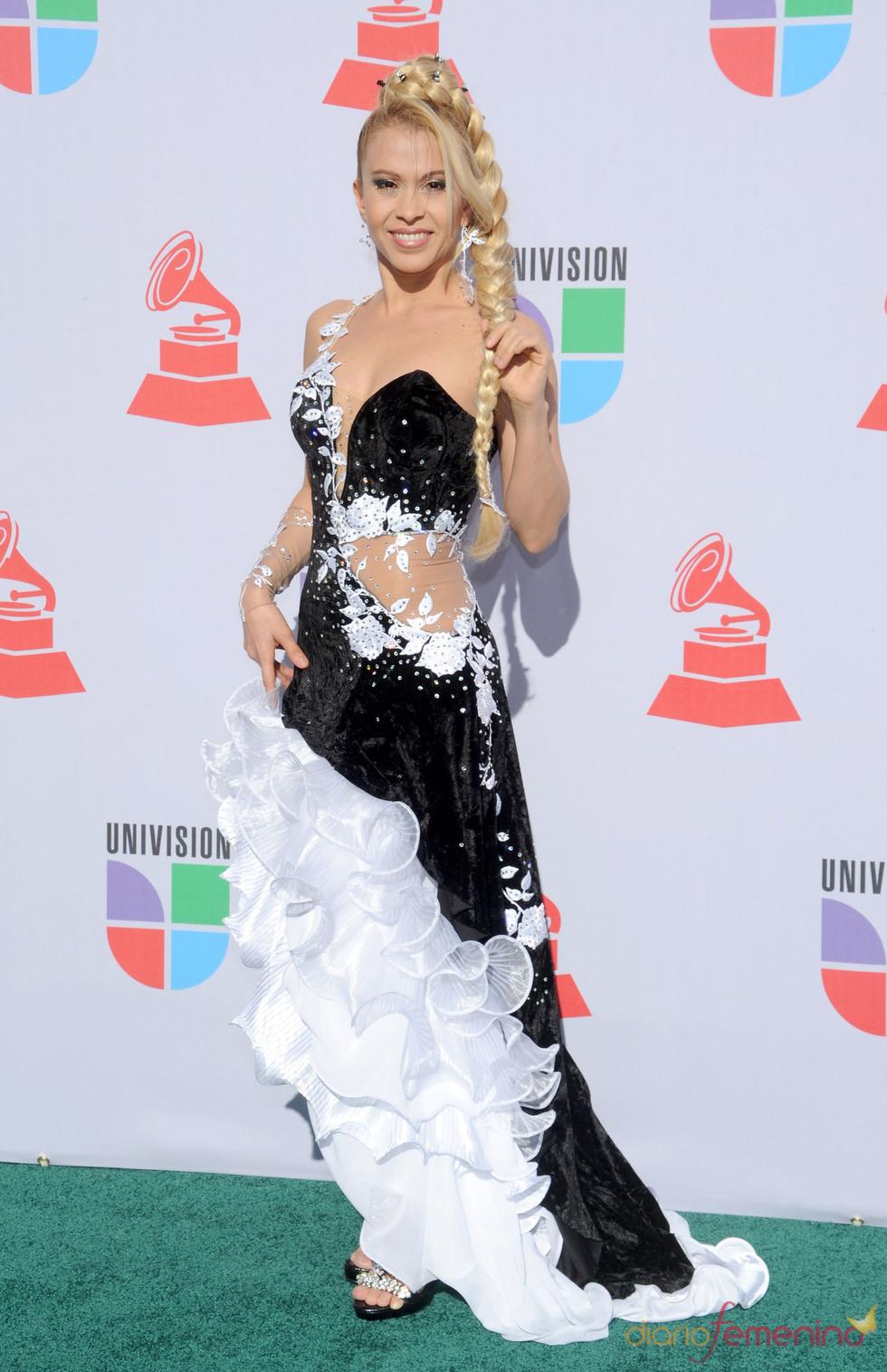 Joelma de Calypso en los Grammy Latino 2010