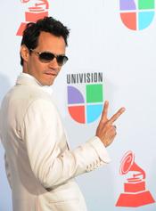 Marc Anthony en los Grammy Latino 2010