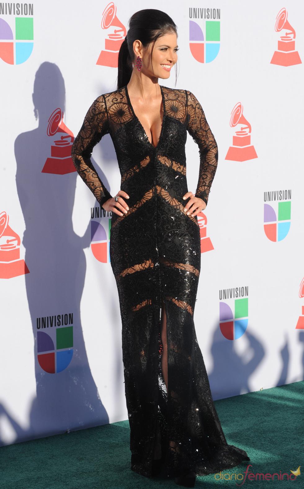 Chiquinquira Delgado en los Grammy Latino 2010