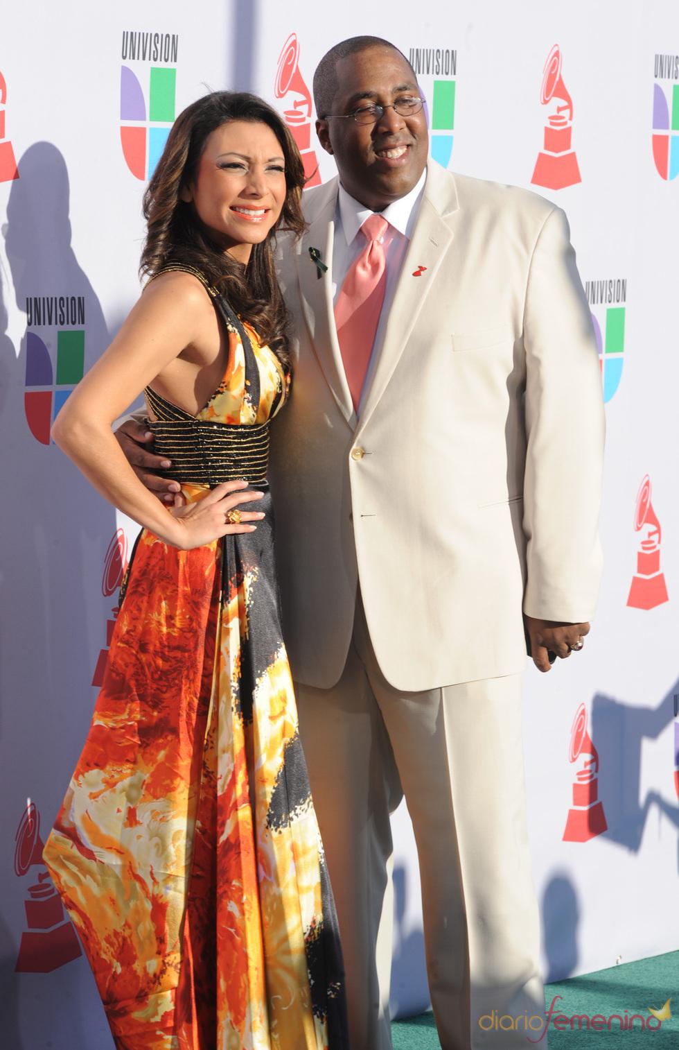 Liliana Gil y Henry Jiménez en los Grammy Latino 2010