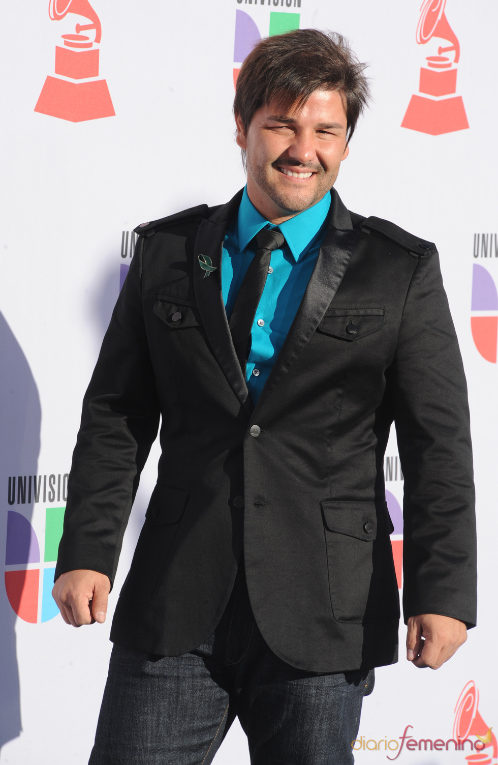 Nash a su llegada a los Grammy Latino 2010