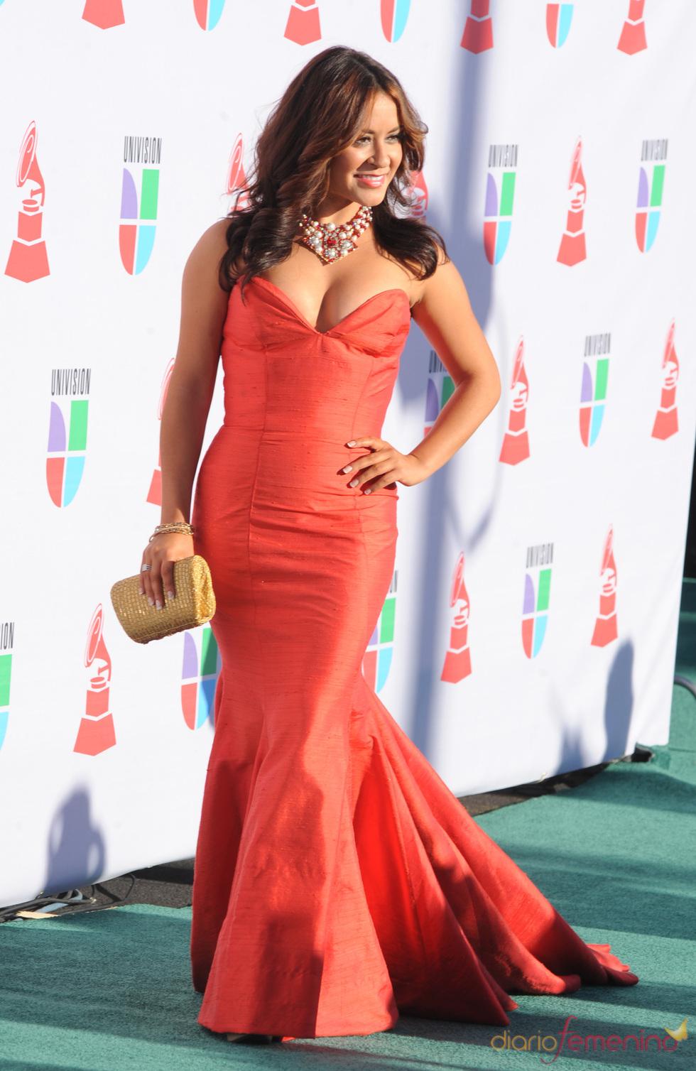 Paloma Michelle en los Grammy Latino 2010