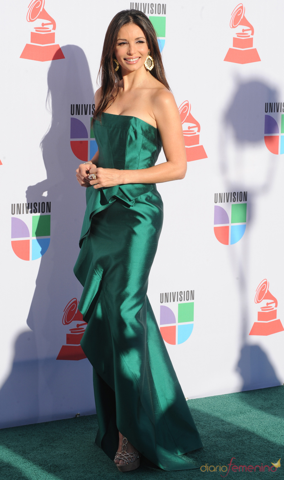 Giselle Blondet en los Grammy Latino 2010