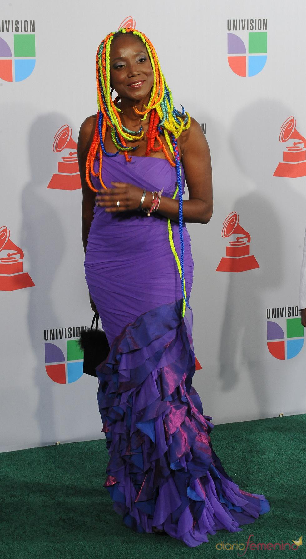 Sandra de Sá en los Grammy Latino 2010